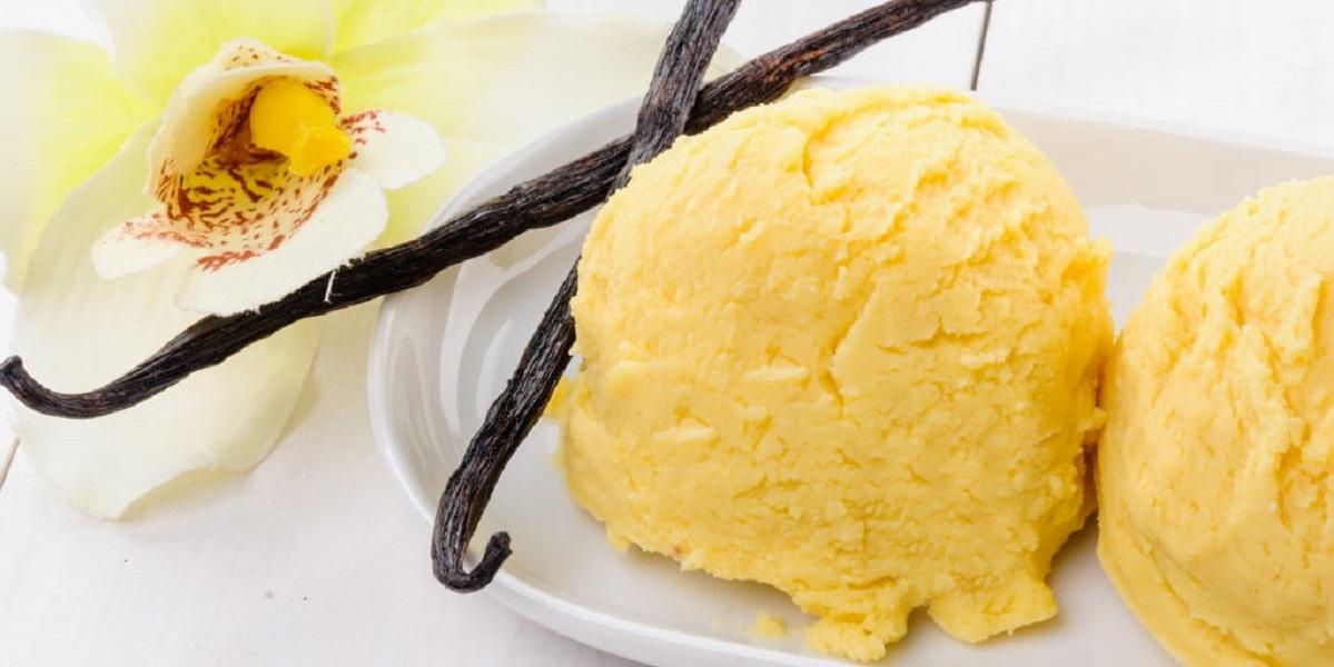ваниль, редкое растение, ванильное мороженое