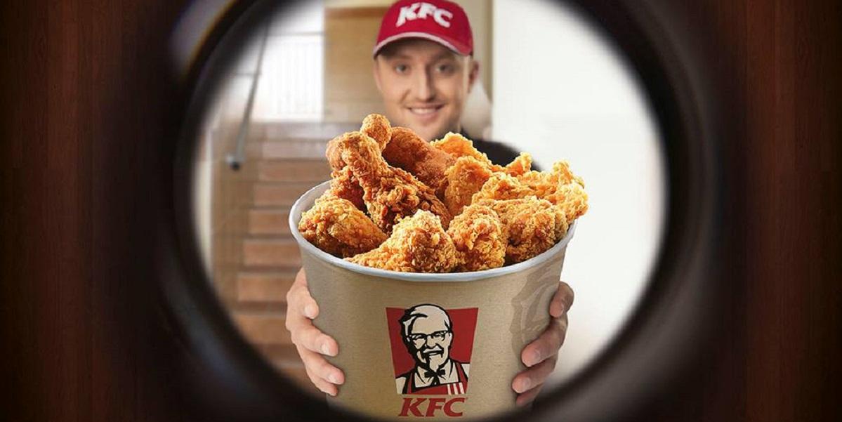 «Яндекс. Еда», KFC, доставка, курятина, фастфуд