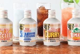 Nissin Foods Holdings, Cup Noodle, Cup Noodle, газировка со вкусом лапши, Япония