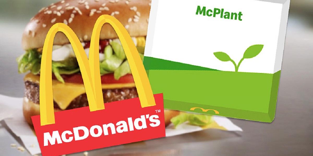 "McDonald's, бургер McPlant, ""немясо"""