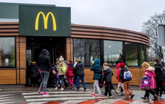 «Макдоналдс», «Мобильный Заказ», снижение очереди