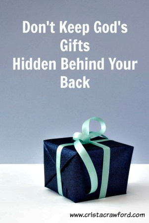 Presents are meant to be unwrapped and used. Have you opened yours?