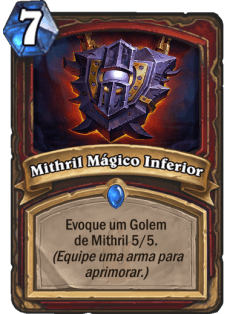 mithrill mágico inferior