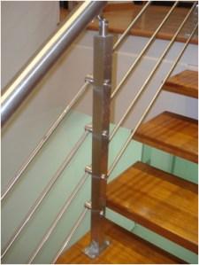 barandas escalera acero inoxidable