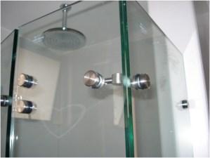 divisiones ducha acero y cristal