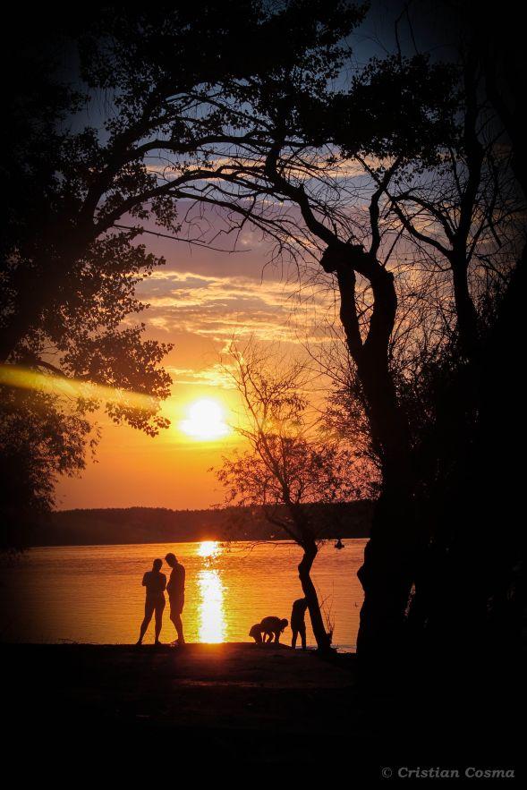 Apus pe Dunare/ Sunset on Danube @ Calafat