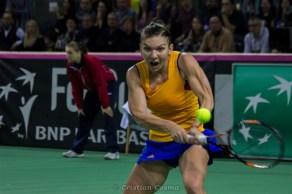 Simona Halep @ FED Cup 2016