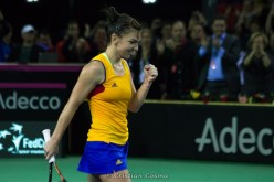 Victorie Halep @ FED Cup