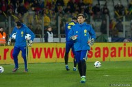 Iker Casillas training at ClujArena