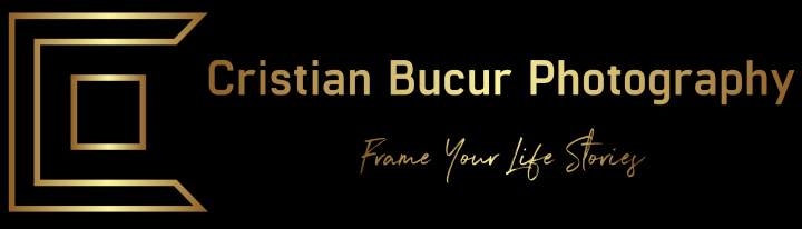 Cristian Bucur Photography- Frame Your Life Stories goes beyond just a logo; it is personal my belief as a photographer transformed in a beautiful logo.