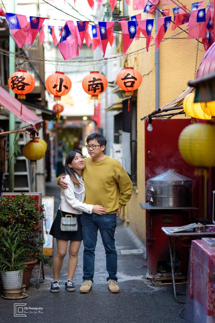 Couples Portraits in Chinatown, Yokohama