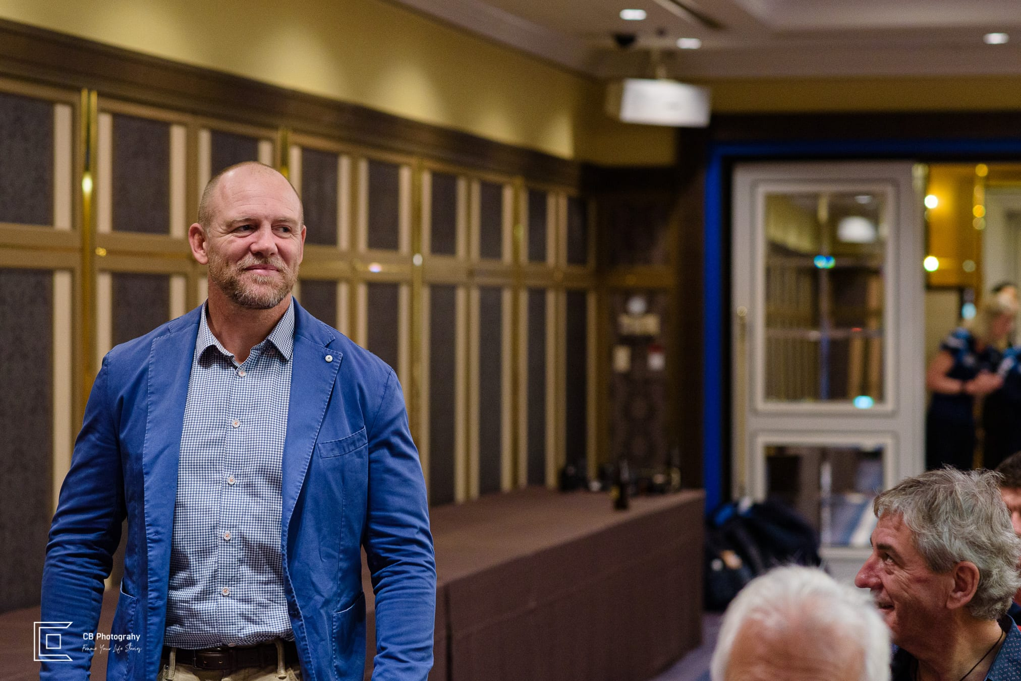 Mike Tindal during an event in Japan, by Cristian Bucur Photographer in Tokyo