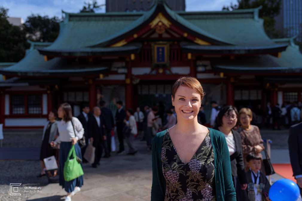 Portrait at Hie Shrine by Tokyo vacation photographer Cristian Bucur