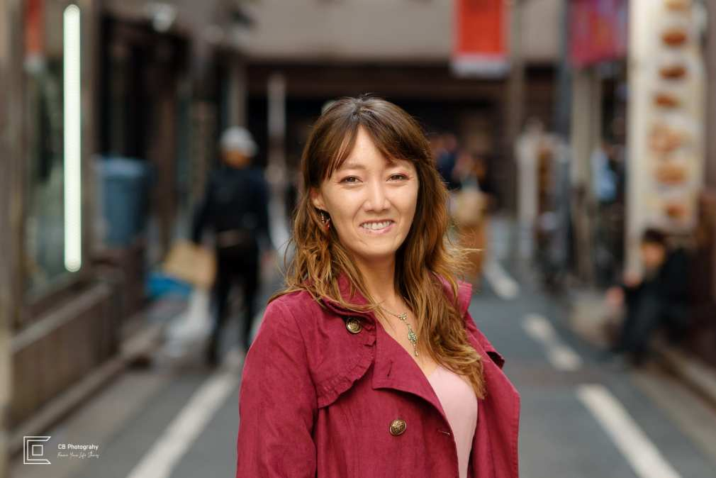 Portrait in Shibuya by the Tokyo vacation photographer Cristian Bucur