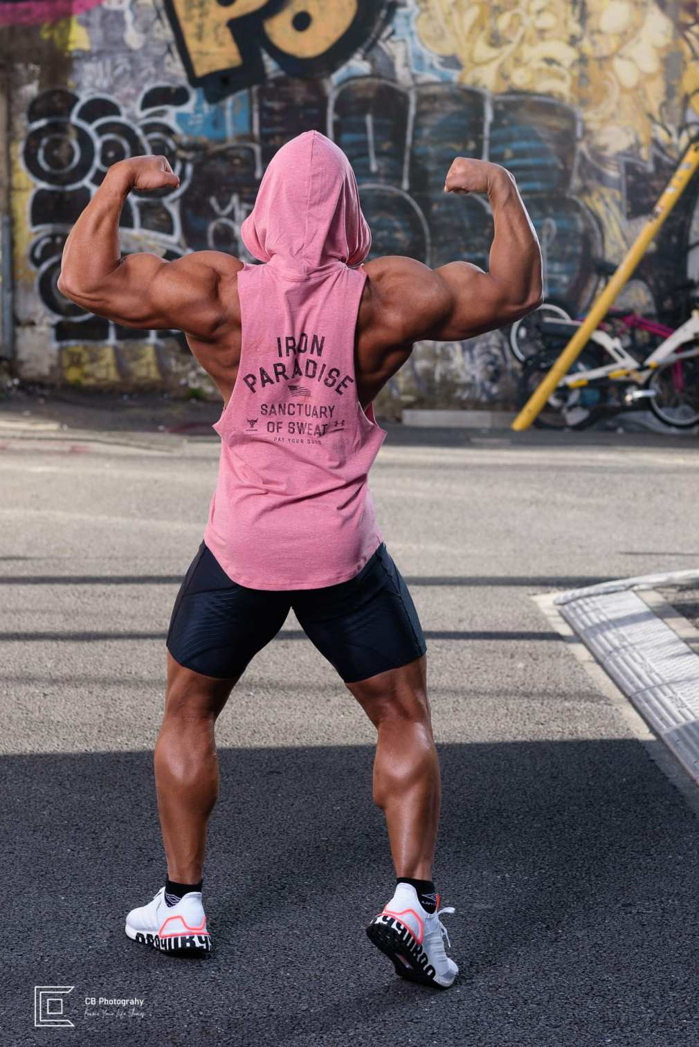 Bodybuilder Portraits in Tokyo by Cristian Bucur Photographer. Images taken in Shibuya.
