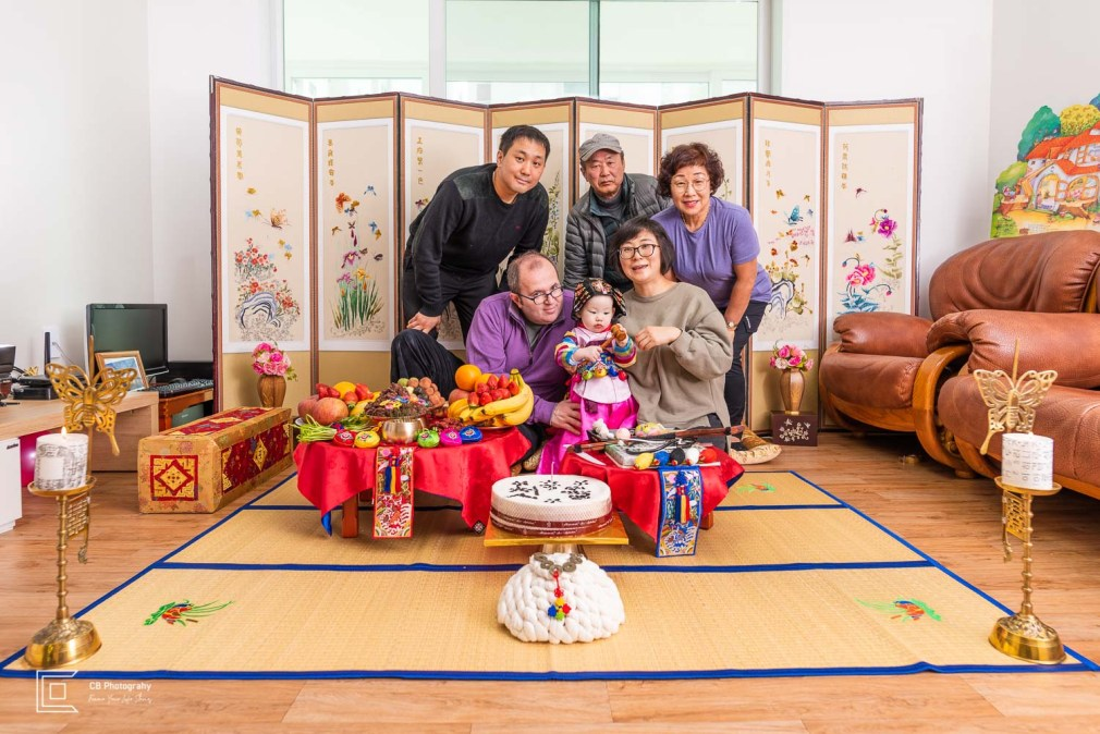 Events photographer, 1st birthday- Asian traditions