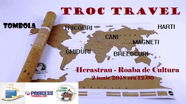 Cu Troc Travel, faci schimb de: suveniruri!