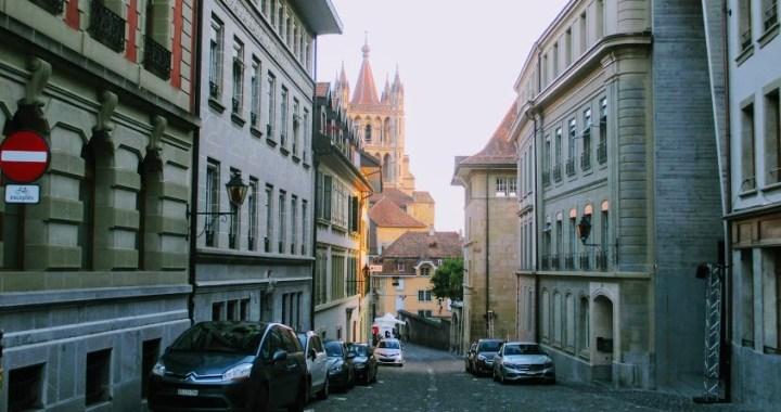 Miraculoasa Elvetie (10): Lausanne, un oras studentesc cu iz medieval