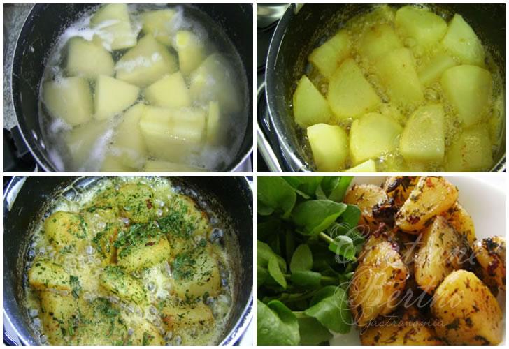 receita de batatas à doré preparadas à minha moda