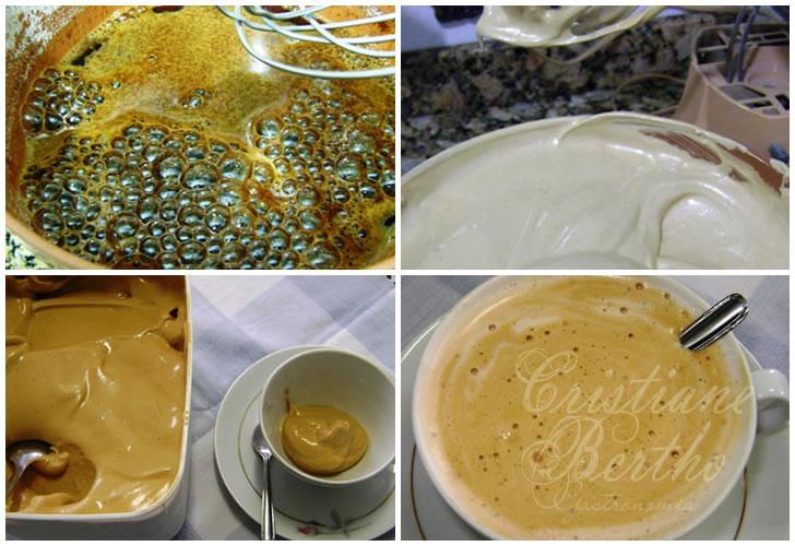 receita de café preparado na batedeira e cremoso