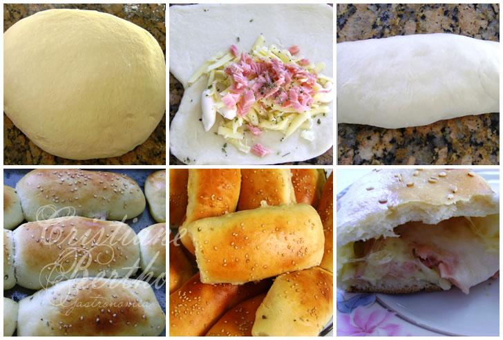 receita de pão preparado como tradicionais joelhos