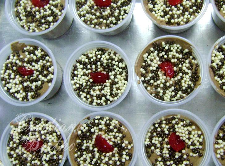 receita de sobremesa mousse de chocolate