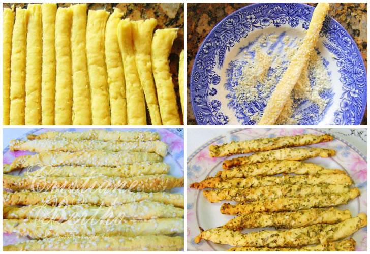 receita de salgadinhos tipo palito de queijo