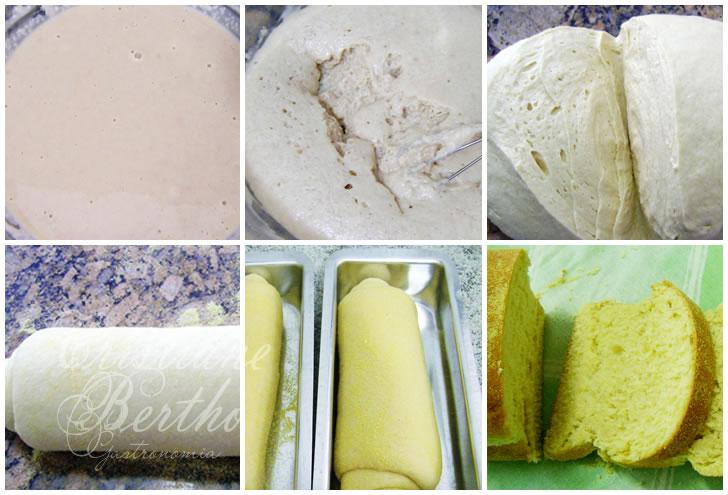 Receita de broa preparada com milho