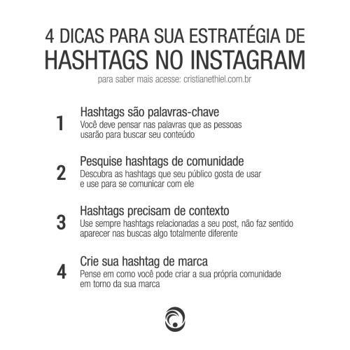 4 Dicas para Sua Estratégia de Hashtags no Instagram