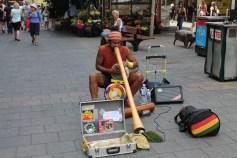 No centro das ruas de Adelaide - Austrália. Maoris Viagens pelo Mundo.
