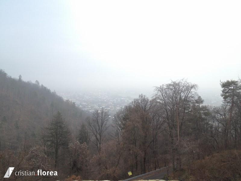 vedere de sus - cetatea neamtului