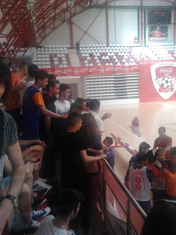 finala cupa coca-cola 2014 - 1