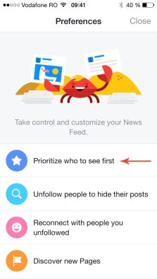 prioritizare news feed de pe telefon 2