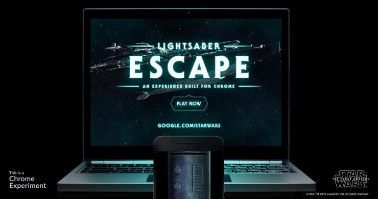 lightsaber escape - joc de browser pentru fanii star wars