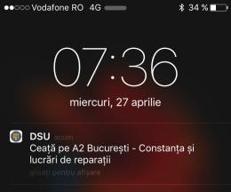 Departamentul pentru Situații de Urgență aplicatie mobila