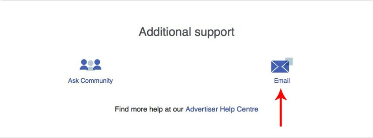 facebook support