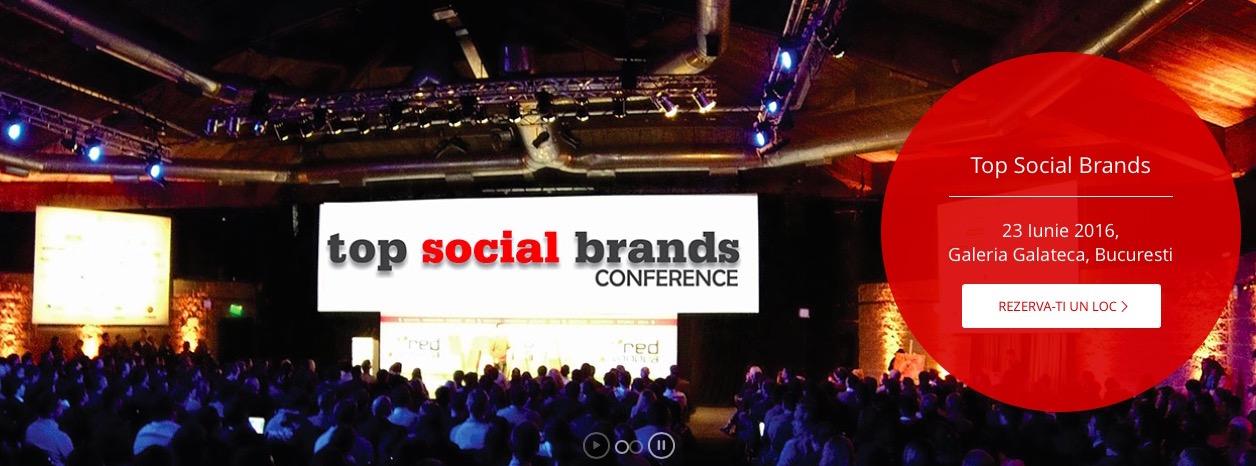 top social brands 2016 - locul unde se dezbat cele mai bune campanii online din ultimul an
