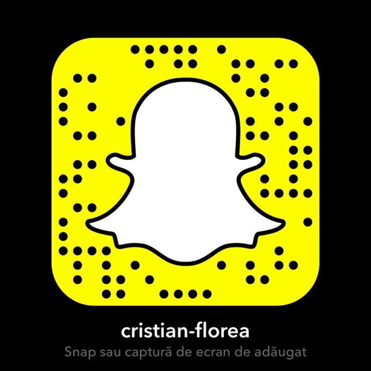 Cristian Florea - Snapchat
