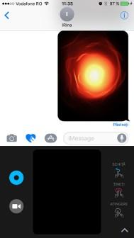 mesaje cu efect in ios 10
