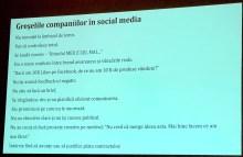 greselile companiilor in social media