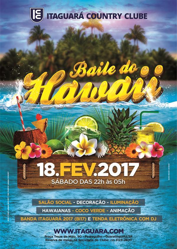 Baile do Hawaii 2017 Itaguar  Cristian Fontes