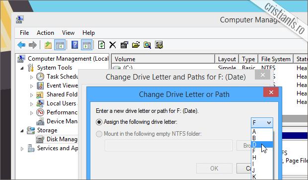alege noua litera