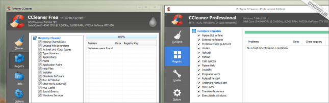 ccleaner registrii