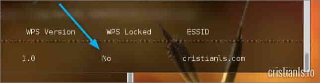 WPS Locked