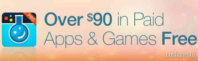 aplicatii si jocuri in valoare de 90 de dolari