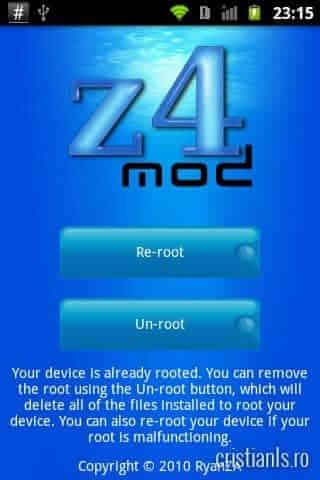 re-root & un-root Optimus One P500