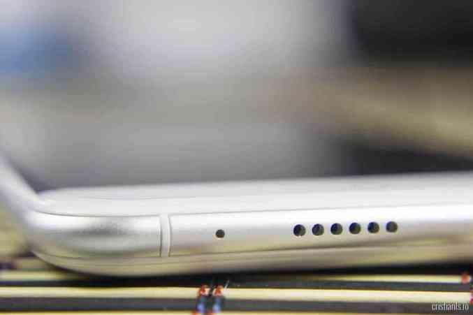 Ulefone Paris - fante microfon & difuzor
