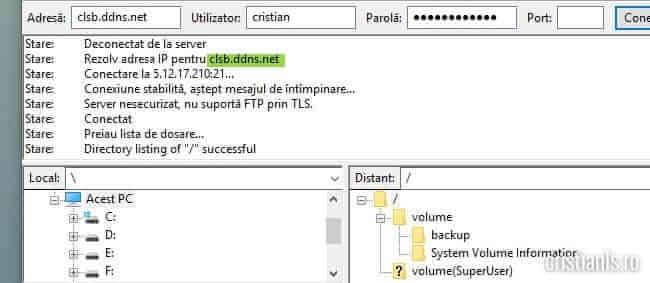 adresa ip dinamica transformata in statica