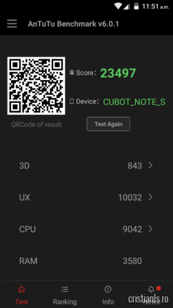 Benchmarks Cubot Note S (2)