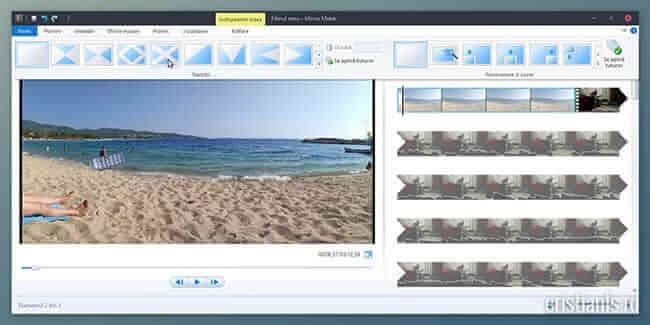 Program de editat video gratuit - Movie Maker